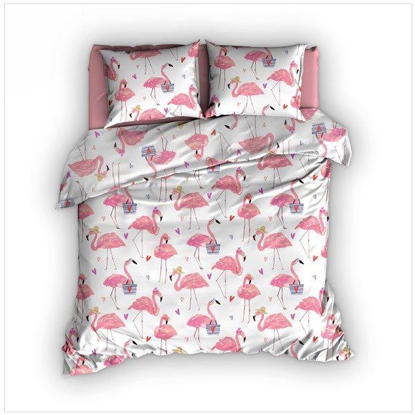 Dekbedovertrek Flamingo