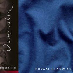 Dommelin hoeslaken jersey finest royaal blauw